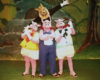 3 porquinhos - o clássico